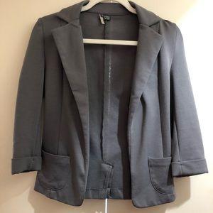 Gray cotton blazer, size XS/S